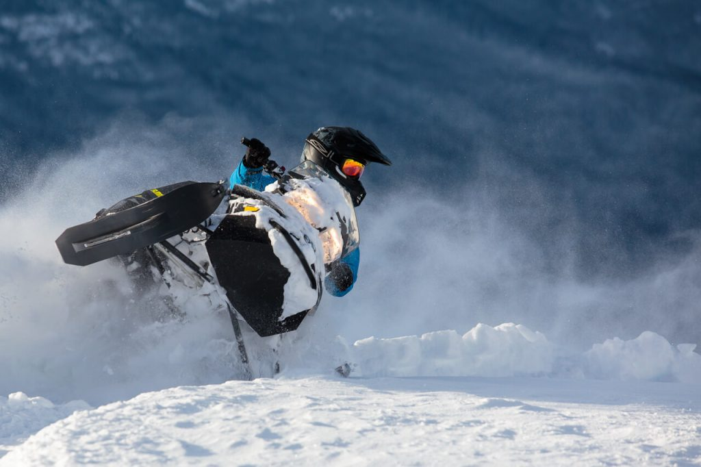 Golden Snowmobiling (photo credit: Dave Best)