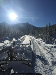 smoothing out the road into Silent Pass this week.
