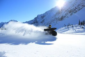 Carving powder in perfect light. Photo Colin Wallace