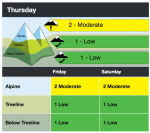 Avalanche.ca Purcell mountains avalanche forecast for Dec 30-Jan1