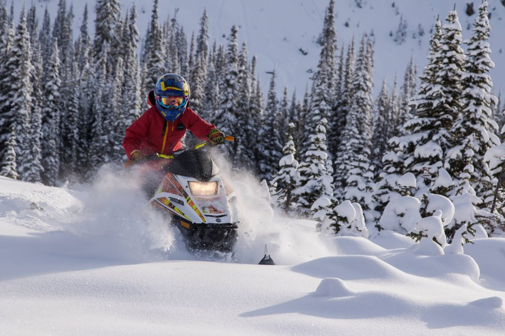 Ben Bernasconi in upper meadows at Quartz Creek, Golden BC Canada. Photo - Tim Grey