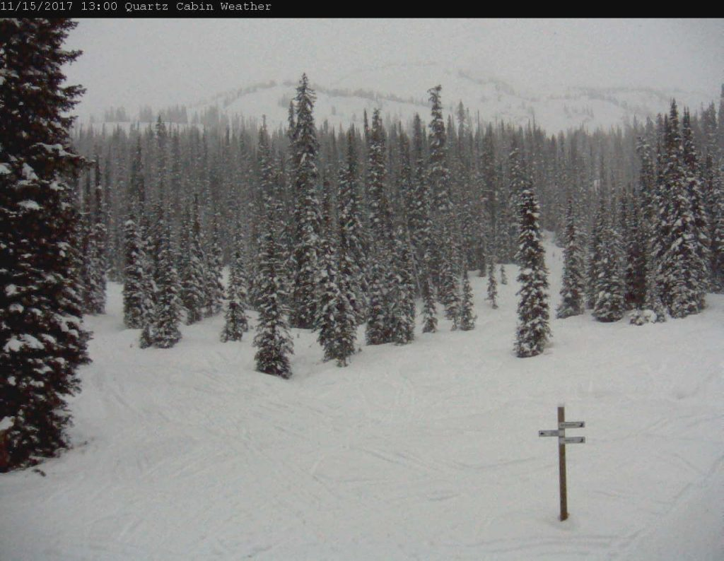 Quart Creek webcam on Nov 15
