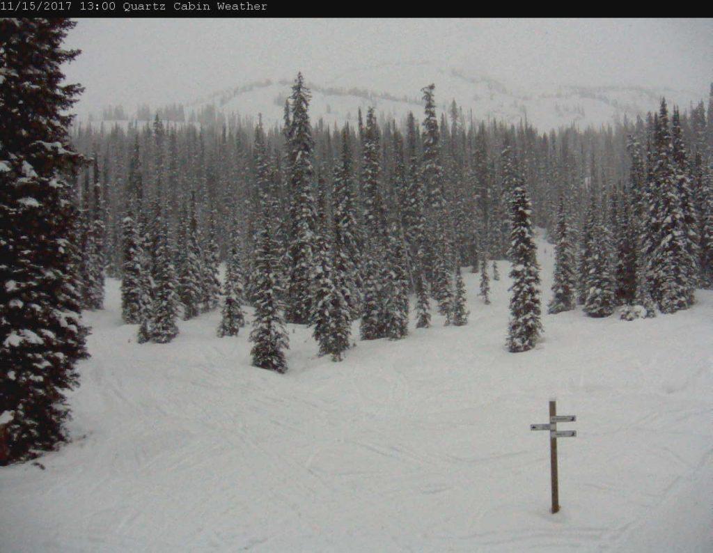 Quart Creek webcam on Nov 15