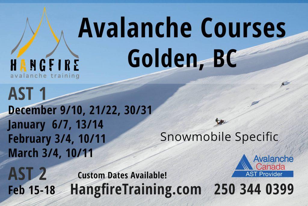 Hangfire Winter 2017-18 Schedule