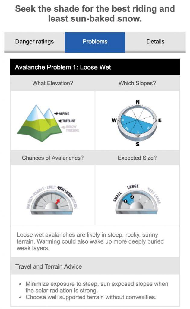 Avalanche Problem Dec 6