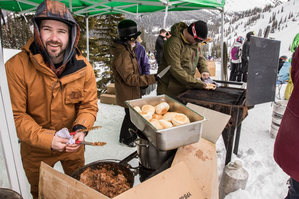 BBQ will be firing for Avalanche Awareness days.