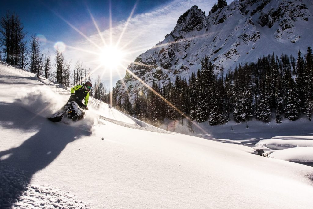 Getting pow and sun on Jan 2, 2017