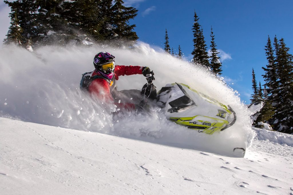 Mountain Motorsports crew on Dec 21st in Quartz. Photo @sledBiglines