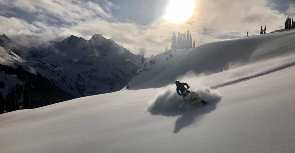 Getting it good after the storm. Nov 25 in Silent. Photo: Colin Puskas